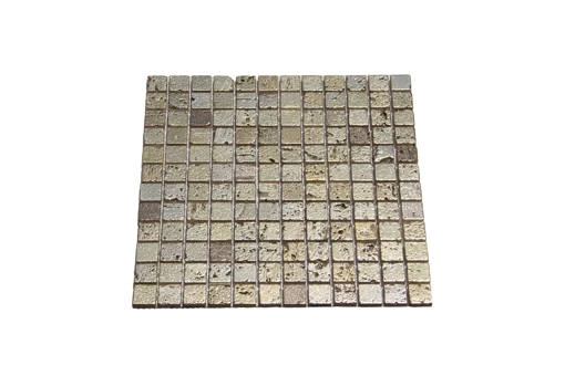 Picture of MOSAIC 100% Stone+Gold Plating Sheet298x298mm,Single Pc23x23