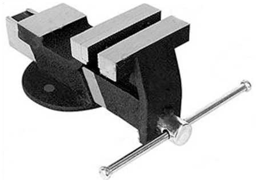 """Picture of JTW  Bench Vice Steel w/Fixed Base - 6"""" (6 kg)"""