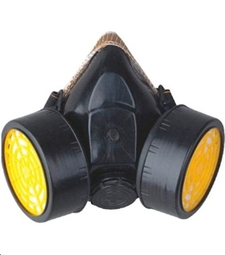 Double particulate Respirator safety mask for chemicals