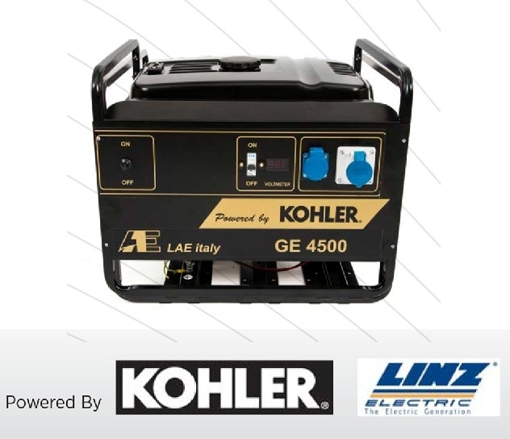 Picture of GENERATOR GASOLINE 3600W WITH KOHLER CH270 MANUAL START- GE4500