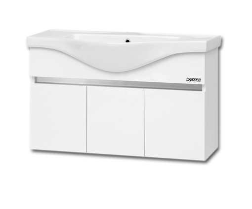 Picture of WASH BASIN WITH CABINET (100 CM)