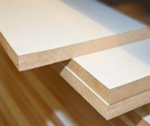 Picture of WHITE MELAMINE MDF   122CM* 244CM * 5MM