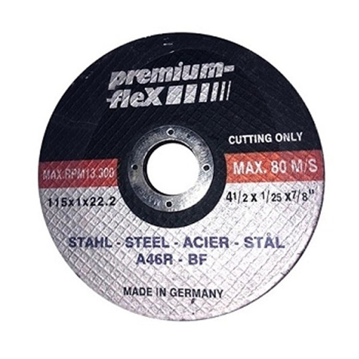 الصورة Cutting Disc for Stainless Steel 115 x 1 x 22.2 mm